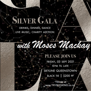 NZ Nrain Tumour Trust SILVER GALA with MOSES MACKAY